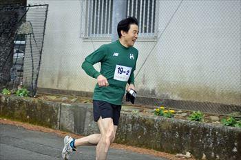 萱瀬新春駅伝大会1